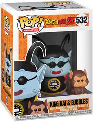 Z - King KAi and Bubbles vinylfigur 532