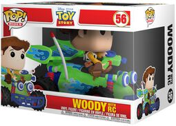 Woody with RC POP Rides vinylfigur 56