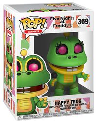 Pizza Sim - Happy Frog vinylfigur 369