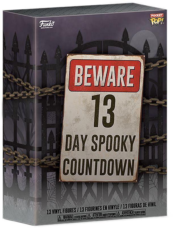 Beware 13 Day Spooky Countdown Calendar 2020