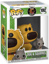 Dug and Squirrel vinylfigur 1092