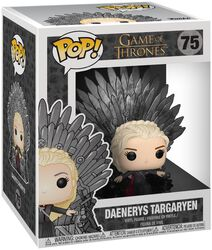 Daenerys Targaryen Iron Throne (POP Deluxe) vinylfigur 75