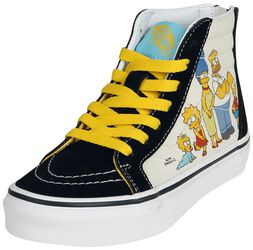 The Simpsons - 1987 - 2020 SK8-Hi Zip