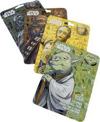 Chewbacca, Yoda, C3PO och Darth Vader
