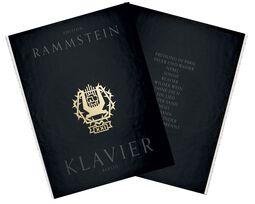 XXI - Notenbuch KLAVIER (Rammstein Edition 2015)