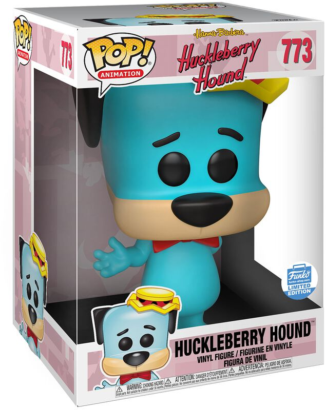Huckleberry Hound (Supersized) (Funko Shop Europe) (Chase-möjlighet) vinylfigur 773