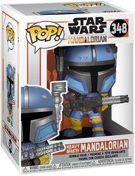 The Mandalorian - Heavy Infantry Mandalorian vinylfigur 348