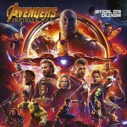 Infinity War - väggkalender 2019