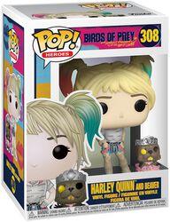 Harley Quinn and Beaver vinylfigur 308