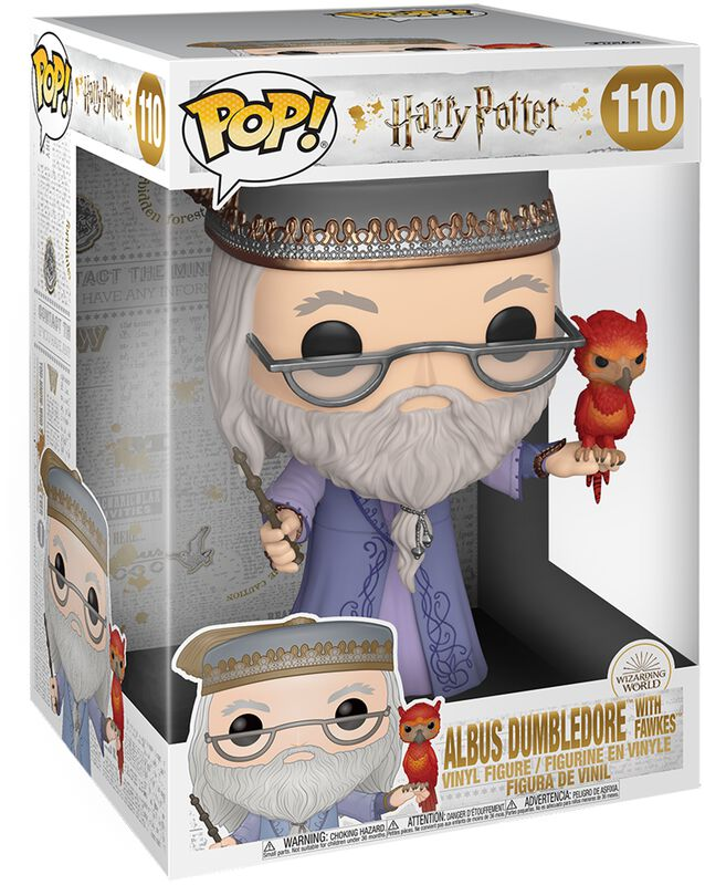 Dumbledore With Fawkes (Life Size) vinylfigur 110
