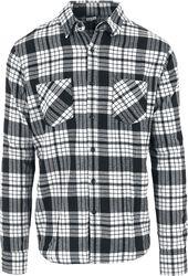 Rutig skjorta Urban Classics Longsleeve. Rutig flanellskjorta 2 78c2a86aeae07