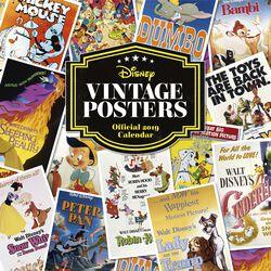 Väggkalender 2019 - Vintage posters