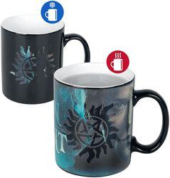 Sam and Dean - Heat-Change Mug