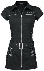 Black Zip Dress