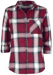 Rutig skjorta - dam