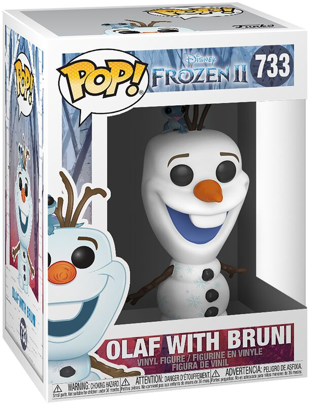 2 - Olaf with Bruni vinylfigur 733