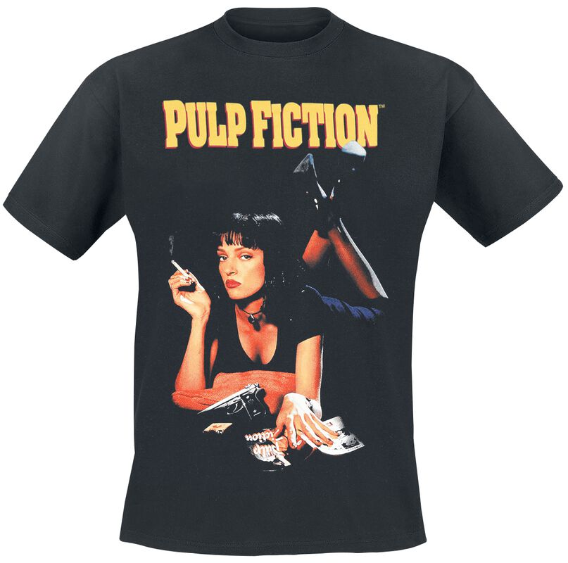 Quentin Tarantino - Pulp Fiction- Poster