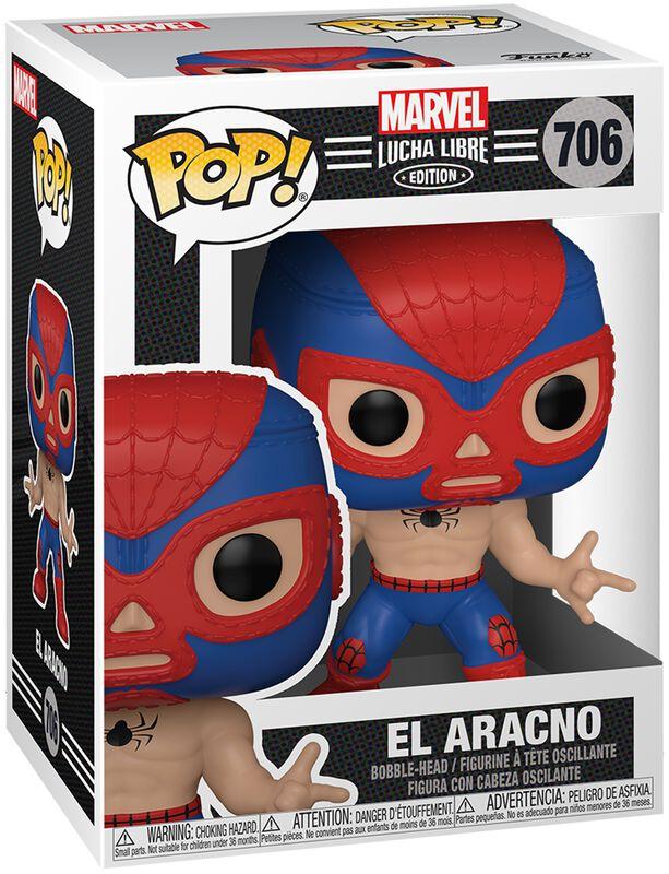 El Aracno - Marvel Luchadores - vinylfigur 706