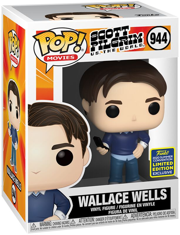 SDCC 2020 - Wallace Wells (Funko Shop Europe) vinylfigur 944